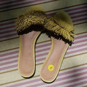 Seed Heritage leather slip-ons